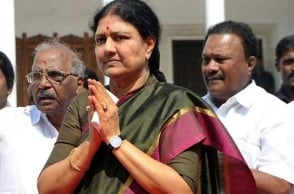 Sasikala likely to visit Chennai in next couple of days