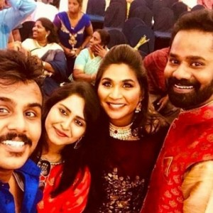 Ramesh Thilak and RJ Navalakshmi Sangeet videos