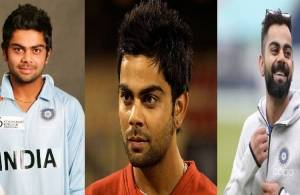 Chubby boy to Indian Skipper - 11 years memories and pictures of Virat Kohli!