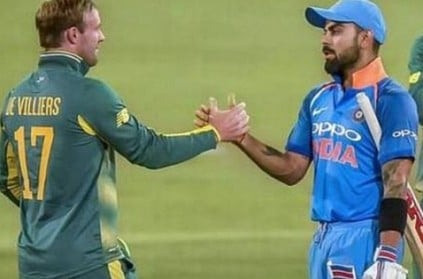 Kohli writes emotional farewell message to 'brother' AB de Villiers