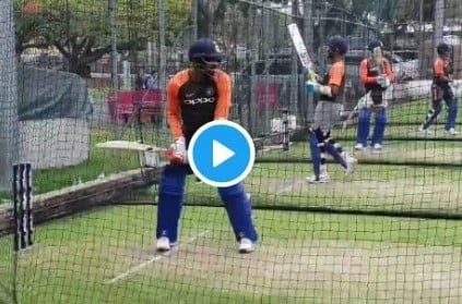 Jasprit Bumrah fearlessly smacking the ball video goes viral
