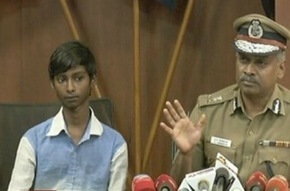 Chennai boy Surya chases down chain-snatcher, appreciated by police