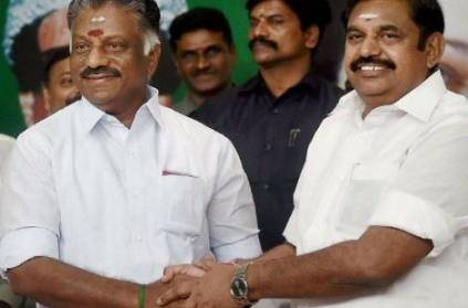 """Nobody can divide OPS and me"": CM Edappadi Palaniswami"
