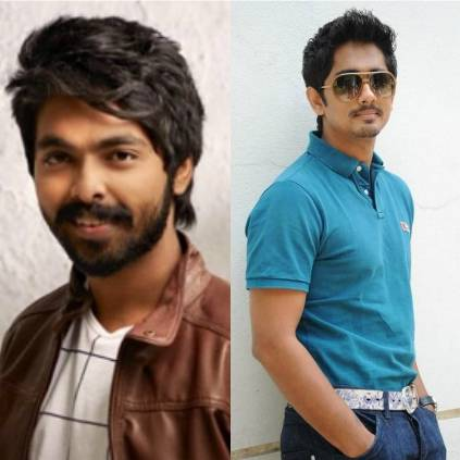 Director Sasi's next with Siddharth and GV Prakash goes on floor today