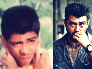 Have you seen Thala Ajith's first on-screen appearance from his debut movie? Check out - Fans celebrate!