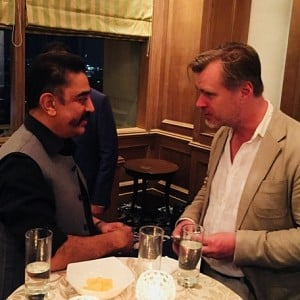 Kamal Haasan meets Christopher Nolan - apologizes to him