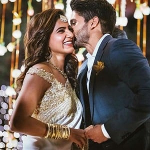 Watch Samantha and Naga Chaitanya wedding reception video!