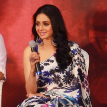 Sridevi's last speech at Chennai