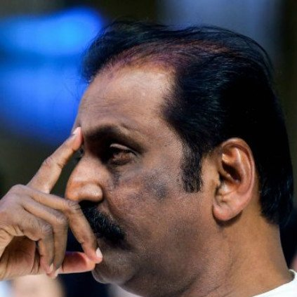 Vairamuthu effigy burnt by protesters over Aandal speech controversy