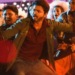 Vijay photos from Simtaangaran song | Sarkar